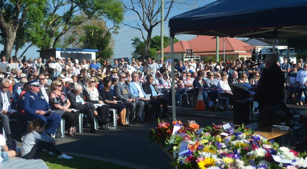 VIP guests included Hon Robyn Preston MP and Chief Inspector Garry Ross, Hawkesbury LAC